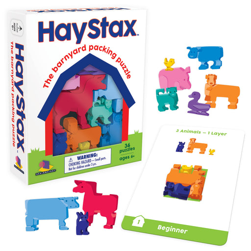 Hay STAX - The Barnyard Packing Puzzle