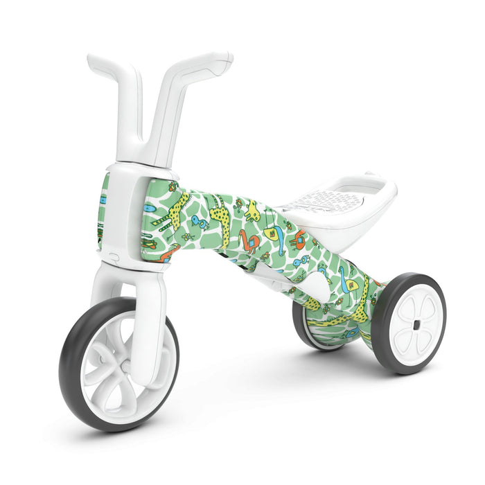 Chillafish Bunzi 2-in-1 Gradual Balance Bike FAD edition (Giraffiti) - TOYTAG