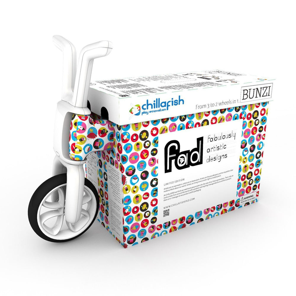 Chillafish Bunzi 2-in-1 Gradual Balance Bike FAD edition (FAD #2 - eARTh) - TOYTAG