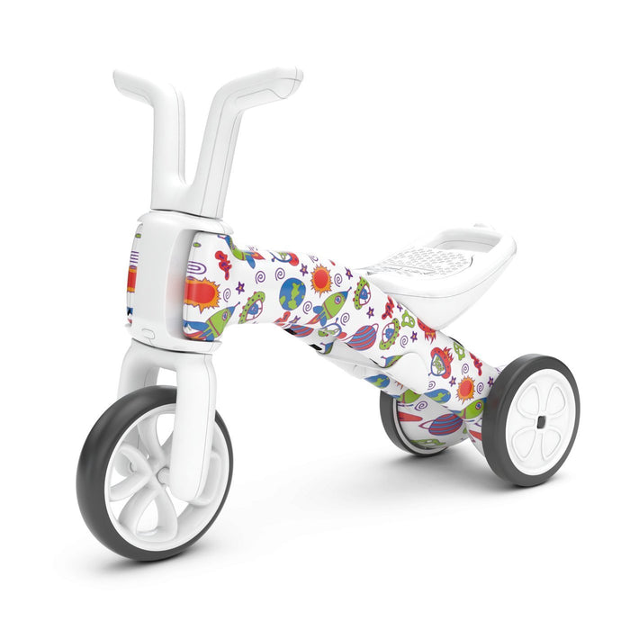 Chillafish Bunzi 2-in-1 Gradual Balance Bike FAD edition (When Monsters meet Stars) - TOYTAG