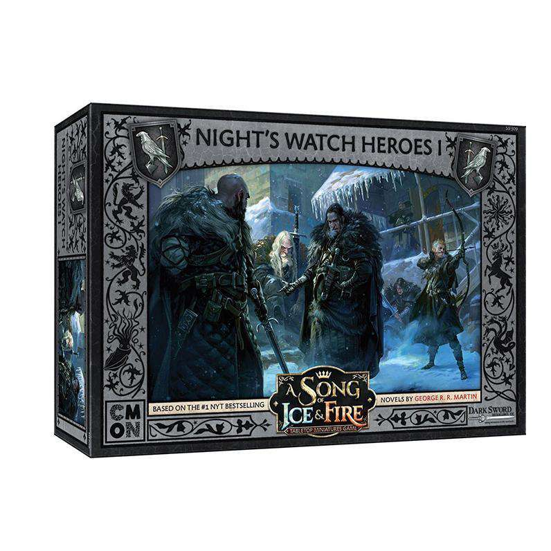 A Song of Ice and Fire: Night's Watch Heroes Box 1 Unit Box - TOYTAG