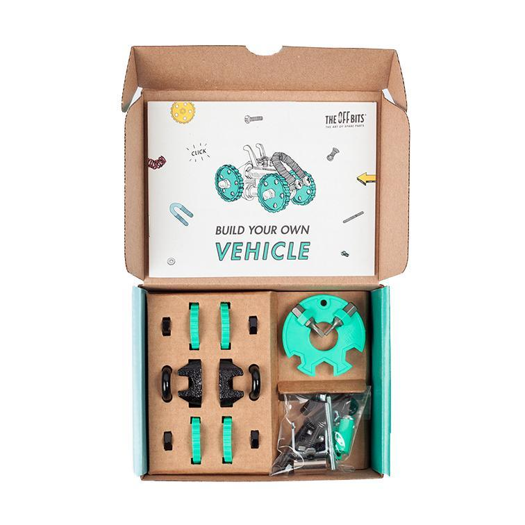OFFBITS Vehicle Kit – Green - TOYTAG