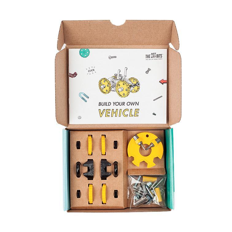 OFFBITS Vehicle Kit – Yellow - TOYTAG