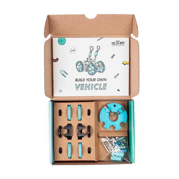 OFFBITS Vehicle Kit – Blue - TOYTAG