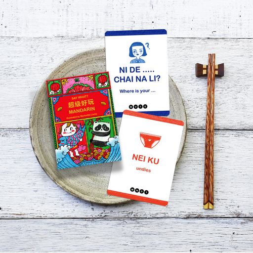 SAY WHAT? Learn Mandarin Playing Cards