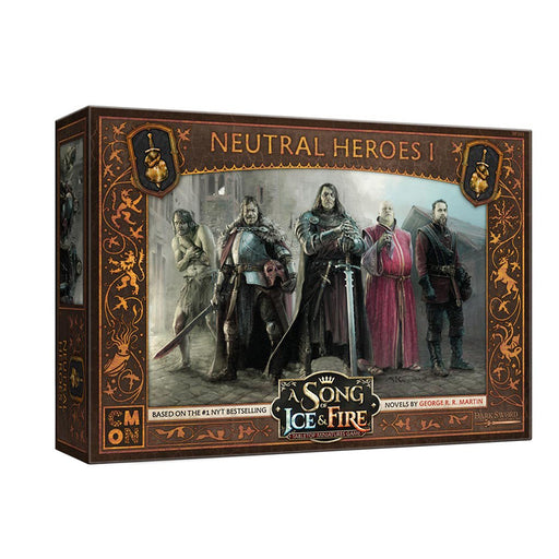 A Song of Ice and Fire:  Neutral Heroes 1 Unit Box