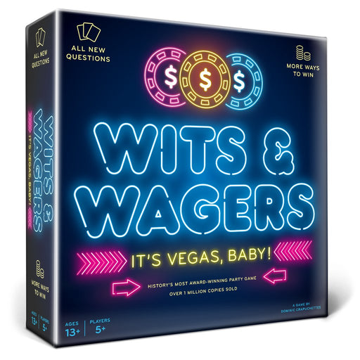 Wits & Wagers It's Vegas, Baby!