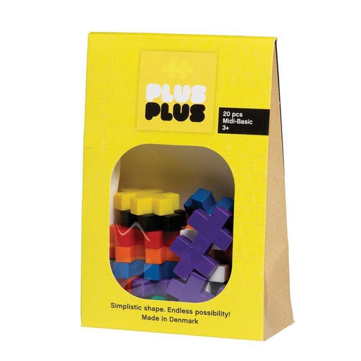 Plus-Plus - Midi Basic 20pcs - TOYTAG