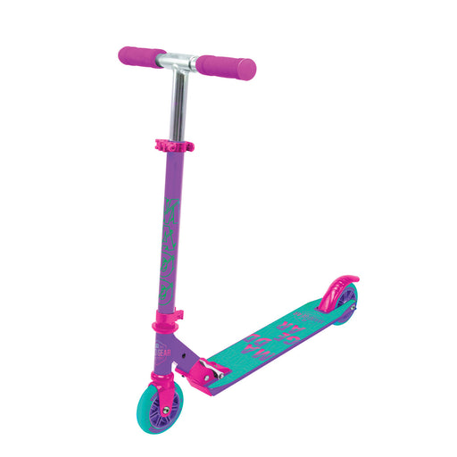 MADD Carve Alloy Kick Scooter - Purple & Pink