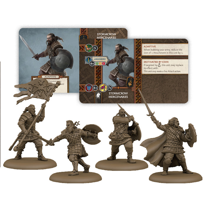 A Song of Ice and Fire: Stormcrow Mercenaries Unit Box
