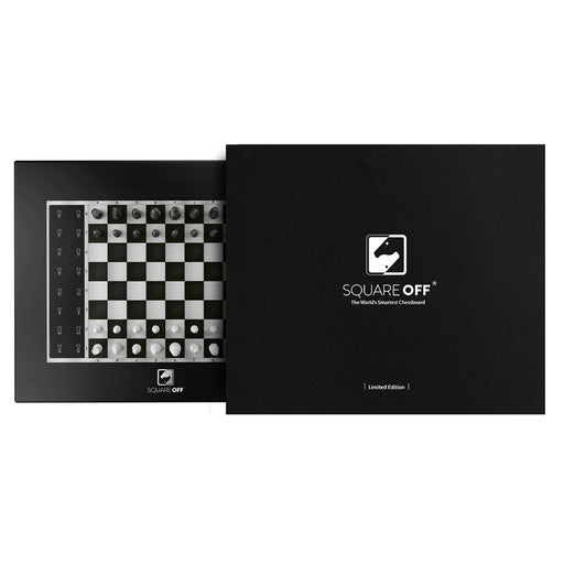 Limited Black Edition Square Off: World's Smartest Chess board