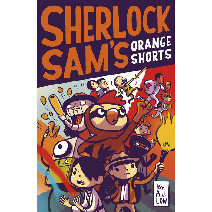 Sherlock Sam's Orange Shorts (Book 11.5)