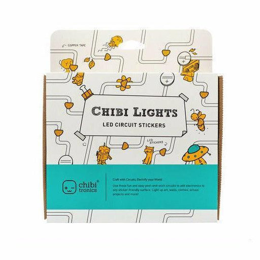 Chibitronics Chibi Lights LED Circuit Stickers STEM Starter Kit - TOYTAG