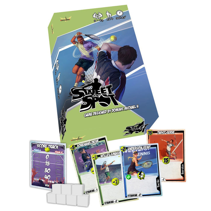 Sweet Spot: The Tennis Card Game