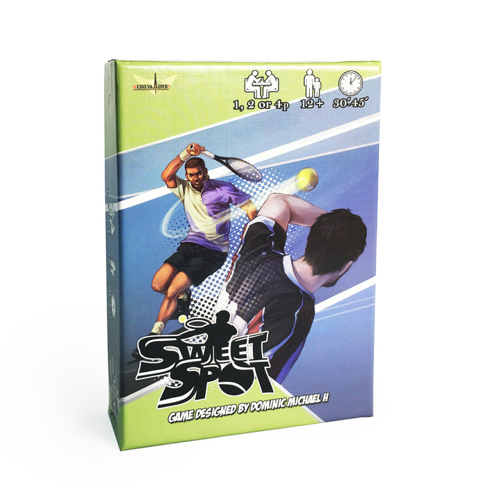 Sweet Spot: The Tennis Card Game - TOYTAG
