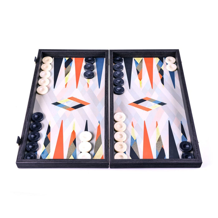Abstract Multicolor Design Backgammon