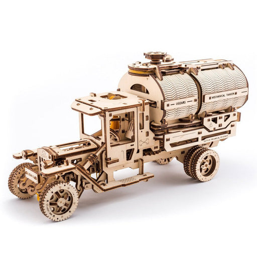 UGEARS 3D Wooden Puzzle - Tanker + UGM-11 Truck