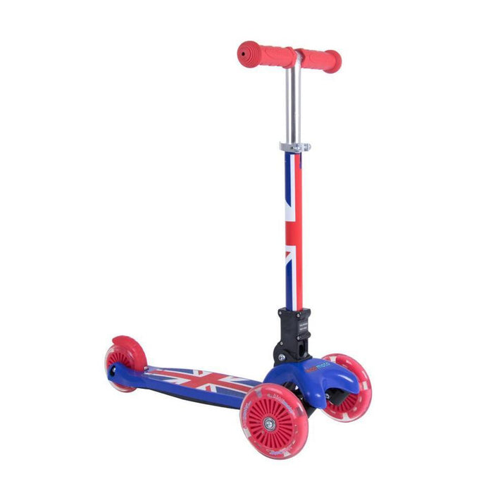 Kiddimoto U-Zoom Union Jack Scooter
