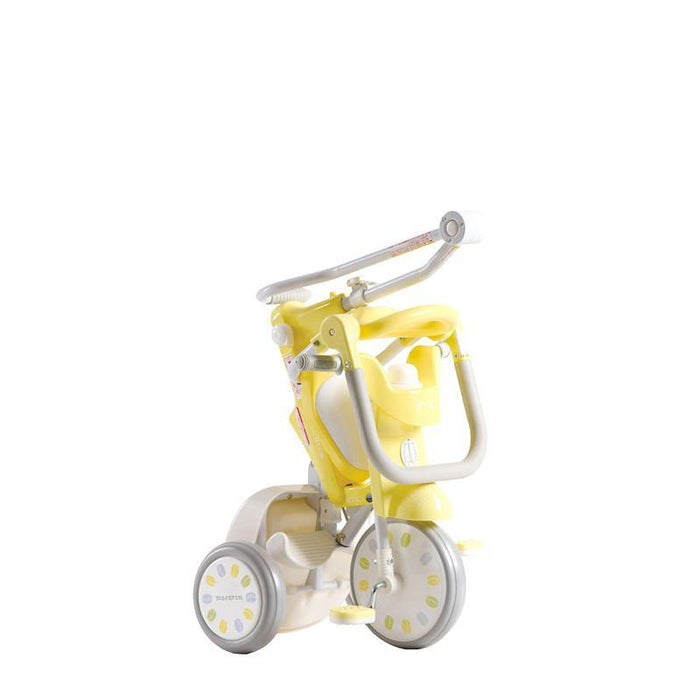 iimo x macaron Foldable Tricycle #2 - Banana Yellow (Limited Edition) - TOYTAG