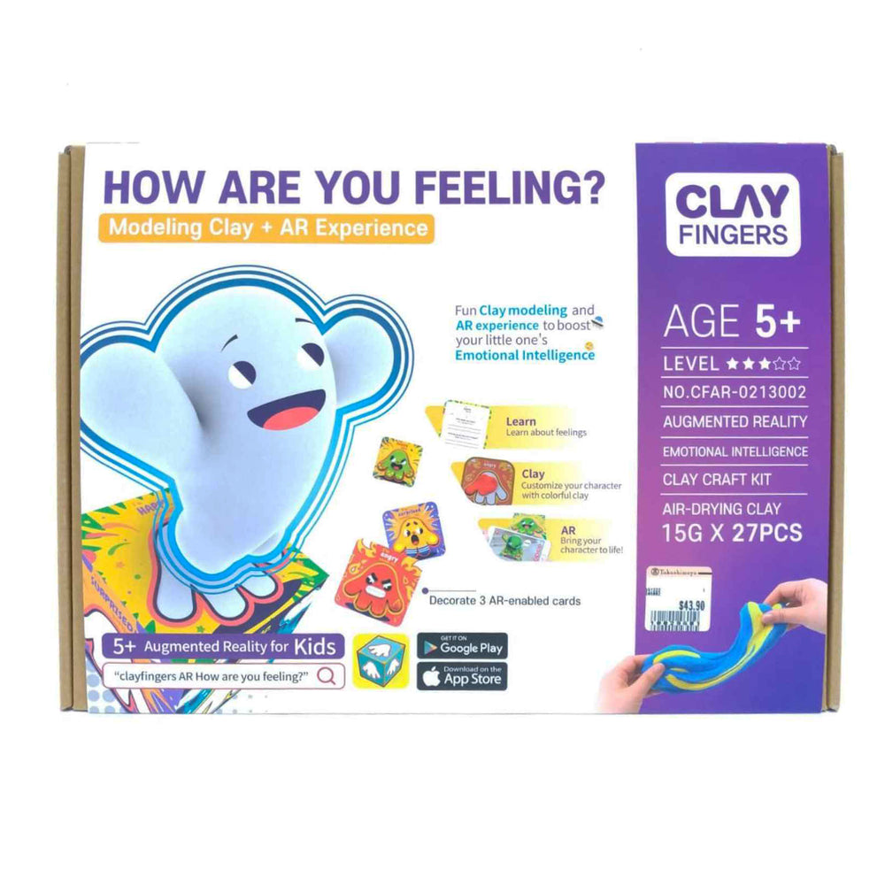 Clay-Fingers: How Are You Feeling? AR Play Set