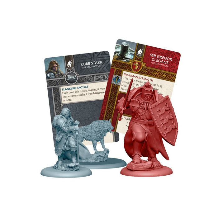 A Song of Ice and Fire Starter Set - Stark vs Lannister - TOYTAG