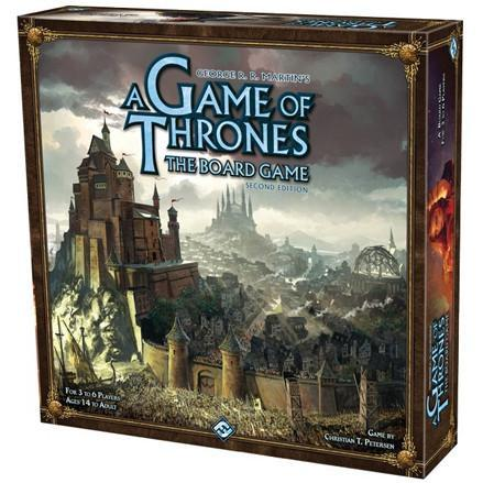 A Game of Thrones Board Game 2nd Edition - TOYTAG