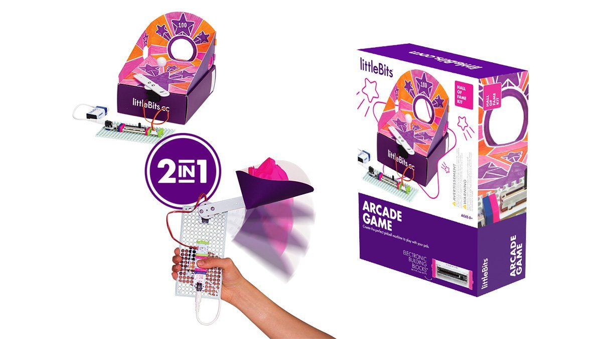 LittleBits Hall of Fame Kit - Arcade Game