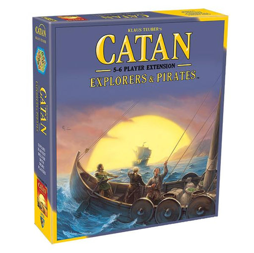 Catan 5th Edition: Explorers & Pirates 5-6 Player Extension - TOYTAG