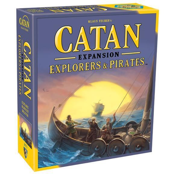 Catan 5th Edition: Explorers & Pirates Expansion - TOYTAG
