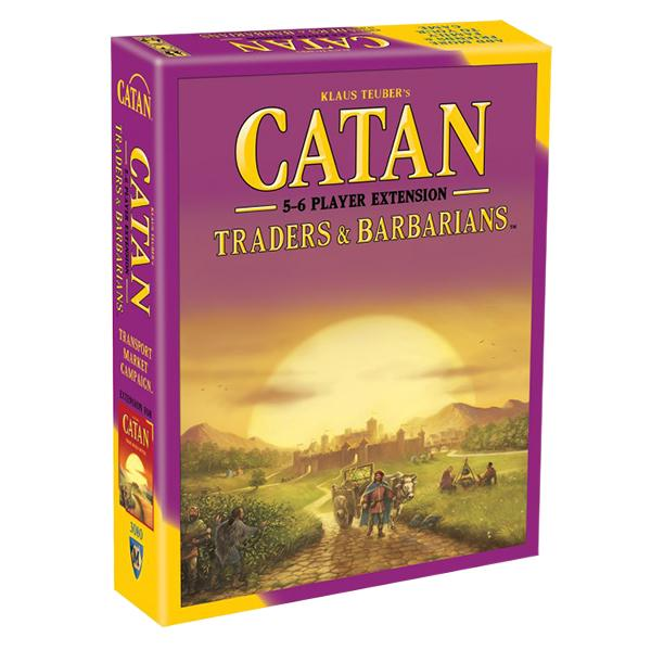 Catan 5th Edition: Traders & Barbarians 5-6 Player Extension