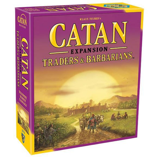 Catan 5th Edition: Traders & Barbarians Expansion - TOYTAG