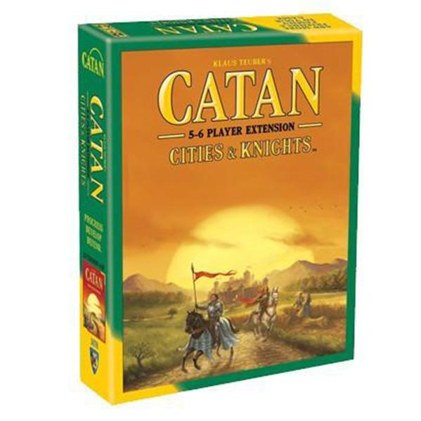 Catan 5th Edition: Cities & Knights 5-6 Player Extension