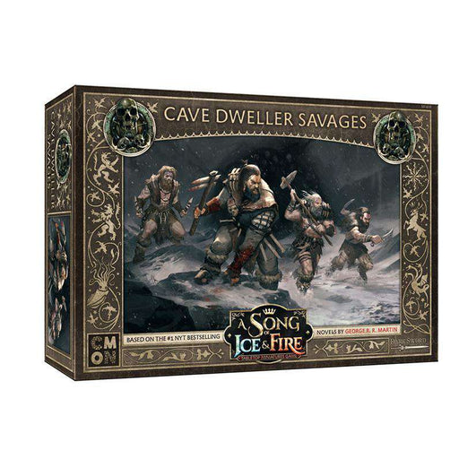 A Song of Ice and Fire:  Cave Dweller Savages Unit Box