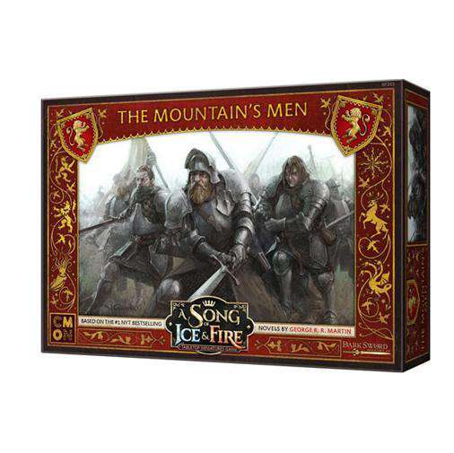 A Song of Ice and Fire: The Mountain's Men Unit Box - TOYTAG