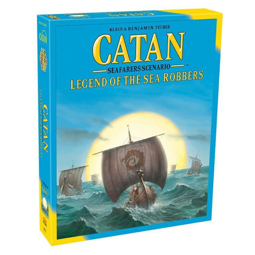 Catan 5th Edition: Legend of the Sea Robbers - TOYTAG
