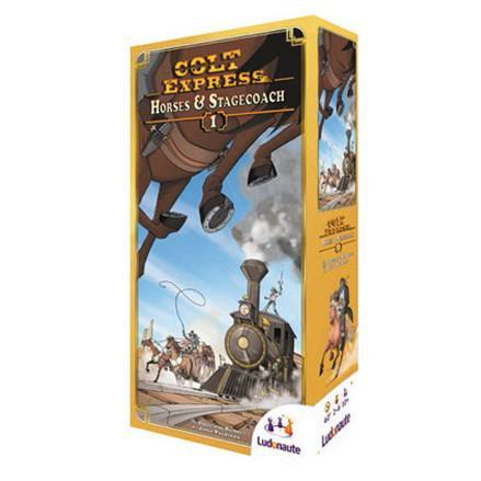 Colt Express: Horses & Stagecoach Expansion - TOYTAG
