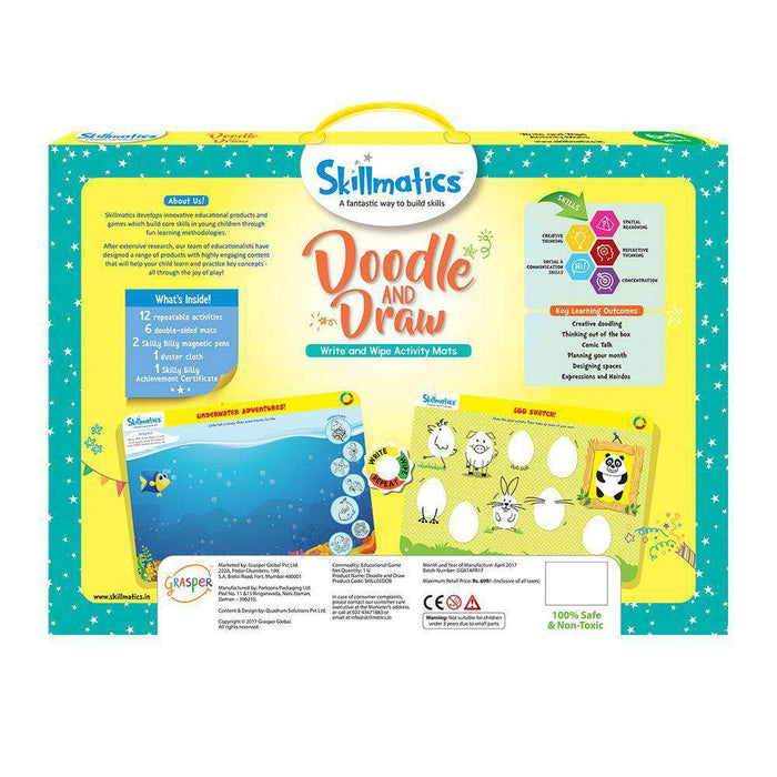 Skillmatics Educational Game: Doodle and Draw