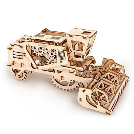 UGEARS 3D Wooden Puzzle - Combine Harvester - TOYTAG