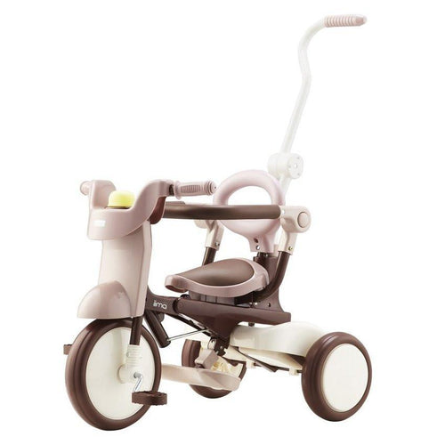 iimo Foldable Tricycle #2 - Comfort Brown - TOYTAG
