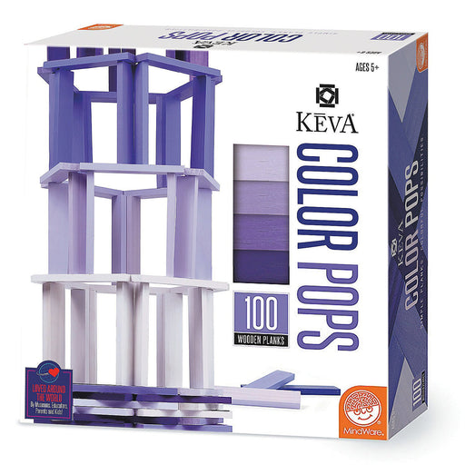 KEVA Color Pops: Purple - TOYTAG