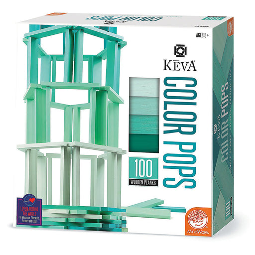 KEVA Color Pops: Teal - TOYTAG