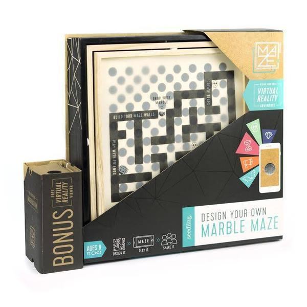 Design Your Own Marble Maze - TOYTAG