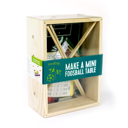 Make a Mini Foosball - TOYTAG