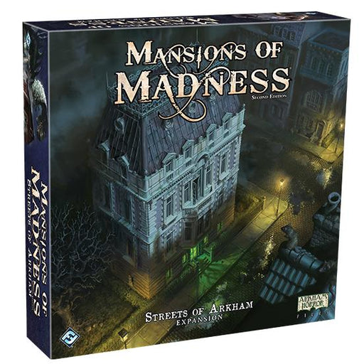 Mansions of Madness: Streets of Arkham Expansion - TOYTAG
