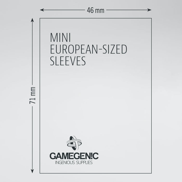 Gamegenic Board Game Sleeves – Mini European