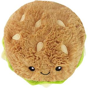 "Mini Squishable Comfort Food Hamburger 7"" Plush - TOYTAG"