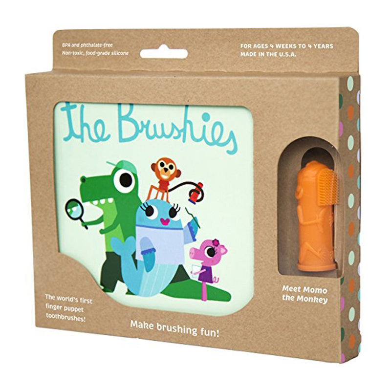 The Brushies Book With Momo Brushie Toothbrush - TOYTAG