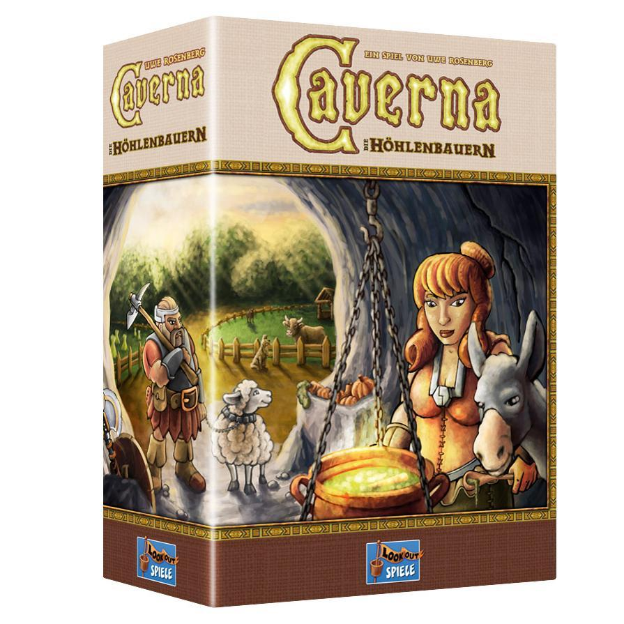 Caverna: The Cave Farmers - TOYTAG