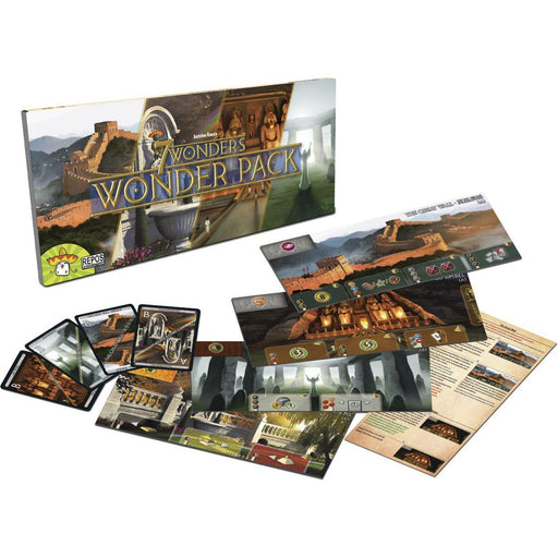 7 Wonders: Wonder Pack Expansion - TOYTAG
