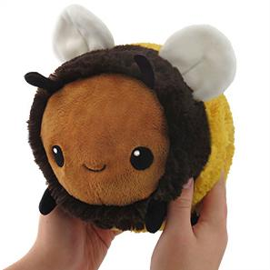 "Mini Squishable Fuzzy Bumblebee 7"" Plush - TOYTAG"